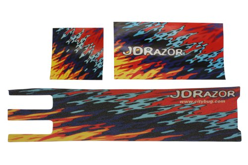 JD RAZOR オリジナルデッキテープ&スッテカーC