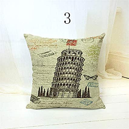 Amazon.com: City Pillowcase London Pillow Covers Decorative ...