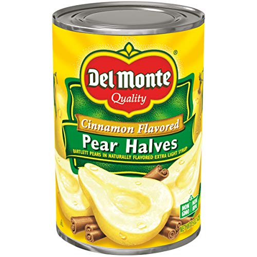 (Del Monte Pear Halves, Cinnamon, 15 Ounce)