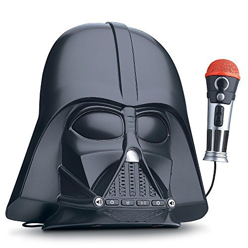 eKids Star Wars Darth Vader Voice Changing Boombox Connects to MP3 Player Darth Vader Phrases Sound Effects from The Star Wars Saga and More by eKids (Image #1)