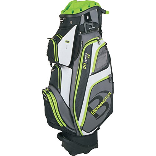 Bennington Quiet Organizer 14 Cart Bag Lime
