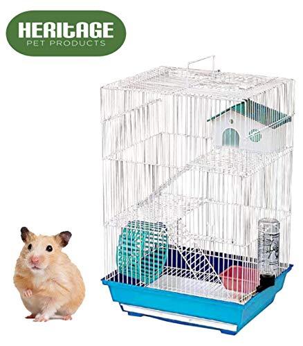 Jaula para roedores muy grande, 4 plataformas con 5 pisos de ...