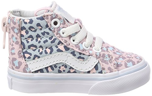 1c3ff908f628bb Jual Vans Toddler (2-Tone Leopard) Sk8-Hi Zip Chalk Pink Baby Blue ...