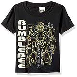 Transformers Big Bumblebee Movie Silhouette Boys T-Shirt, Black, XL-18/20