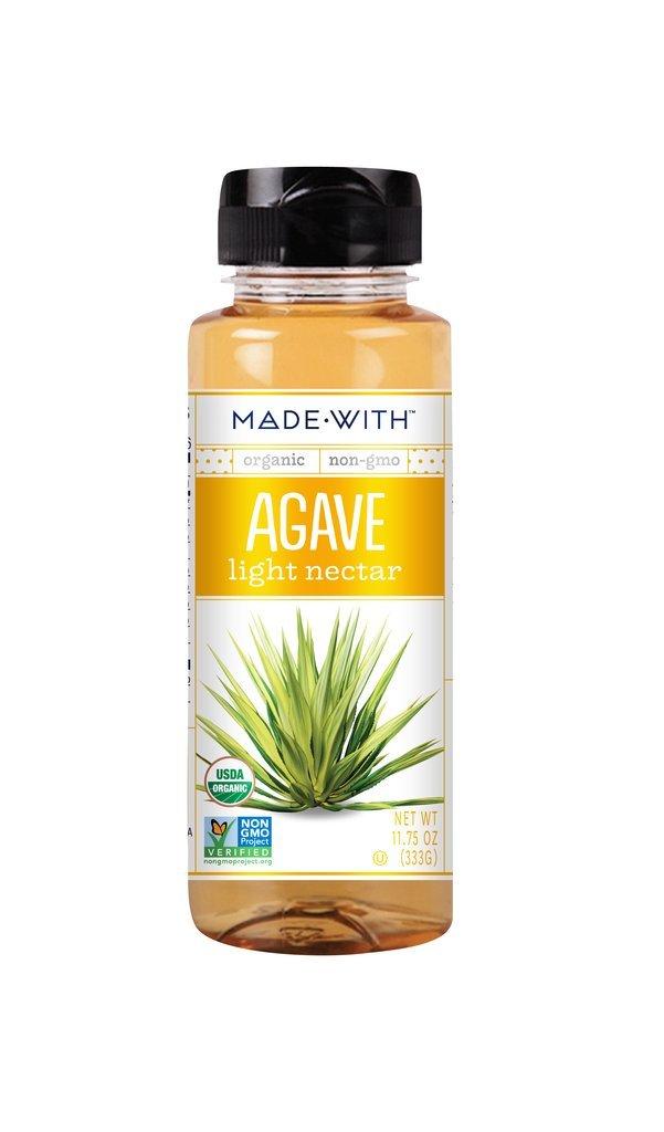 Made With Organic Agave, Light Nectar, 11.75 Ounce