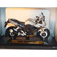 Yamaha Fz1 Fz-1 Fazer Silber 2006 1/18 Mondo Motors Modellmotorrad Modell Motorrad