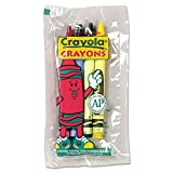 Crayola 520083 Classic Color Pack Crayons Cello Pack 4 Colors 4/Pack 360 Packs/Carton
