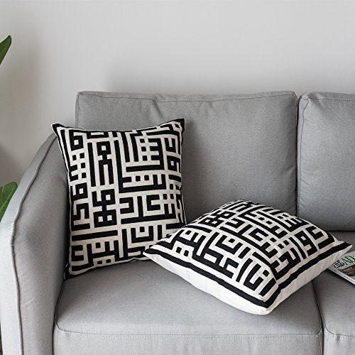 Lananas Throw Pillow Covers Modern Decorative Geometric Home Cushion Cover for Couch, Sofa,Bedroom 18