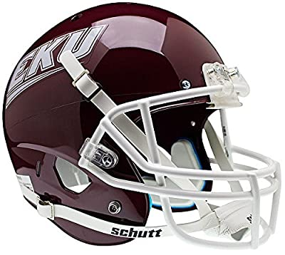 Eastern Kentucky Colonels Full XP Replica Football Helmet Schutt - Licensed NCAA Memorabilia - Eastern Kentucky Colonels Collectibles