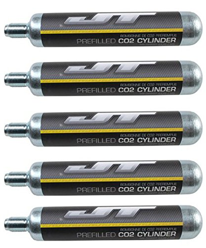 88g Co2 Cartridge (JT 90g CO2 Cartidges (88g Crosman AirSource cylinders compatible) (5 Cartridges))