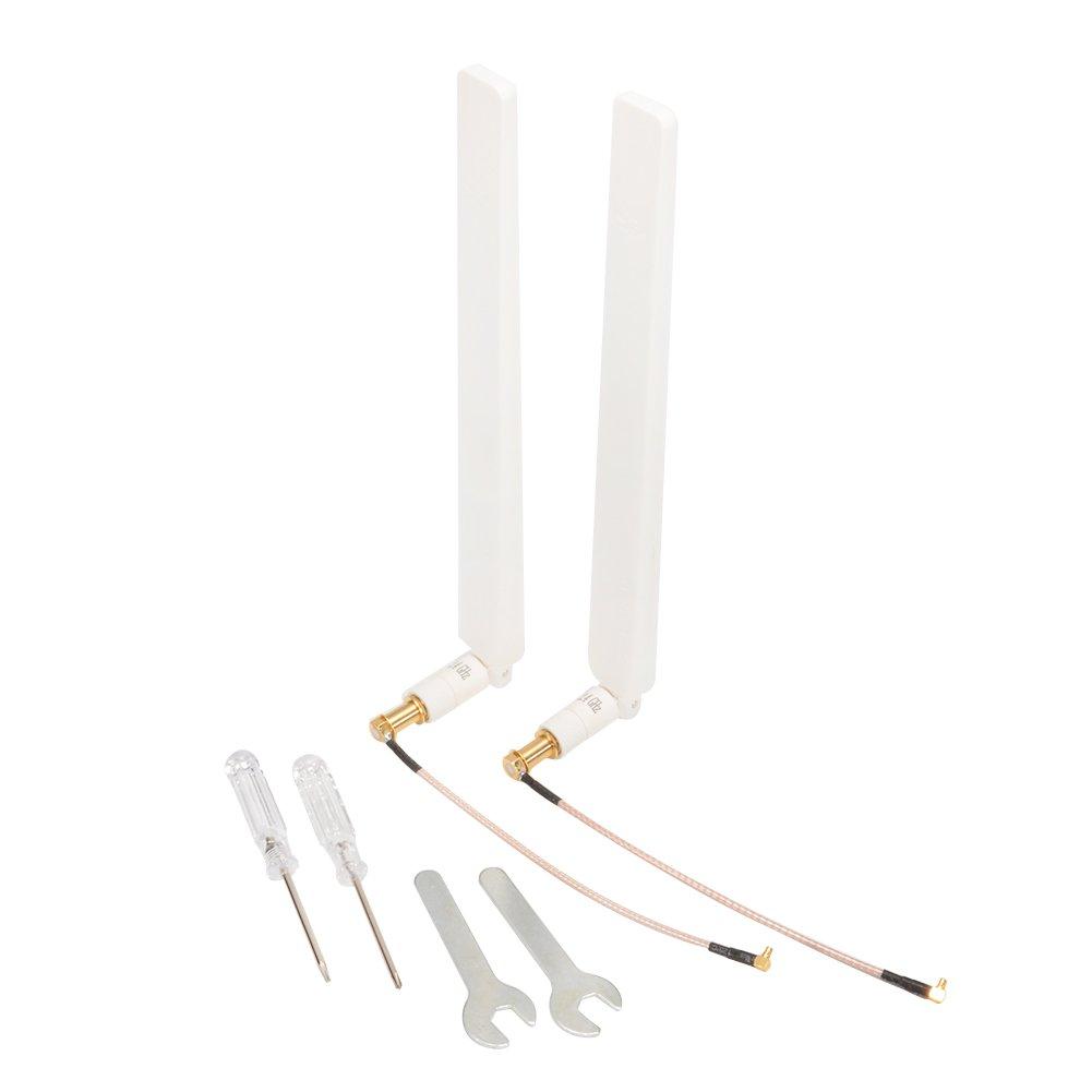 Signal Booster Kit Refitting Antenna Signal Enhancement for DJI Phantom 3 Professional Advanced Phantom 4 Inspire Omni-directional White, Professional WiFi Signal Range Extender Hobbylane