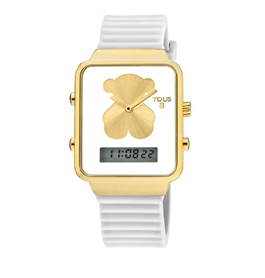 268eca3326c7 RELOJ DIGITAL I-BEAR DE ACERO IP DORADO TOUS 700350145  Amazon.es  Relojes