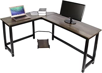 Easeurlife L-Shaped Computer Desk