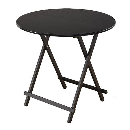 Mesa plegable LXF Hogar Simple Y Moderno Mesa De Comedor Redonda ...