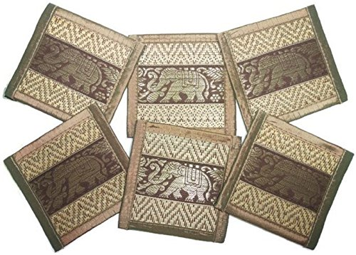 chic-nature-reed-elephant-collection-6-piece-handmade-coaster-set-assorted-color-brown-3
