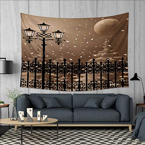 Anhuthree Lantern Tapestry Wall Hanging 3D Printing Frozen S