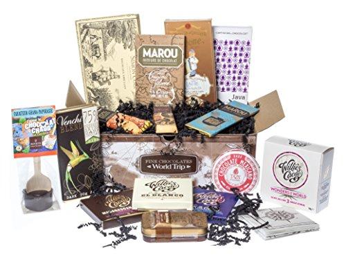 Chocolate Treasure Round-The-World-Trip