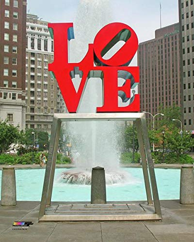 Philadelphia LOVE Statue 8