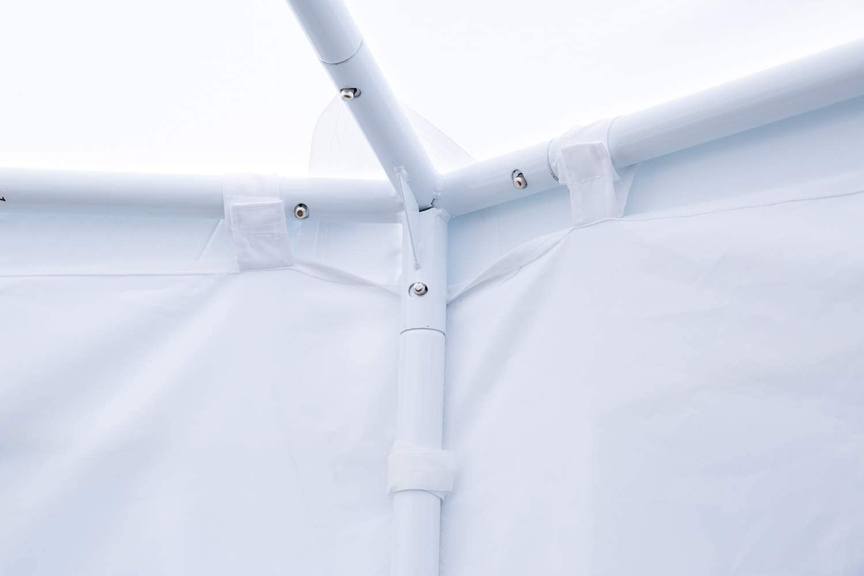 EROMMY 26x19ft Party Tent Gazebo Pavilion Adjustable Removable Sidewalls White Shelter for Wedding,Garden