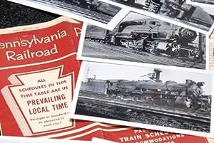 Pennsylvania Railroad Steam Locomotives - 180+ Photo collection