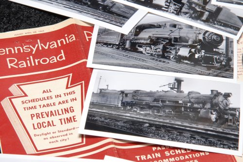 Pennsylvania Railroad Steam Locomotives - 180+ Photo (Switcher Santa)