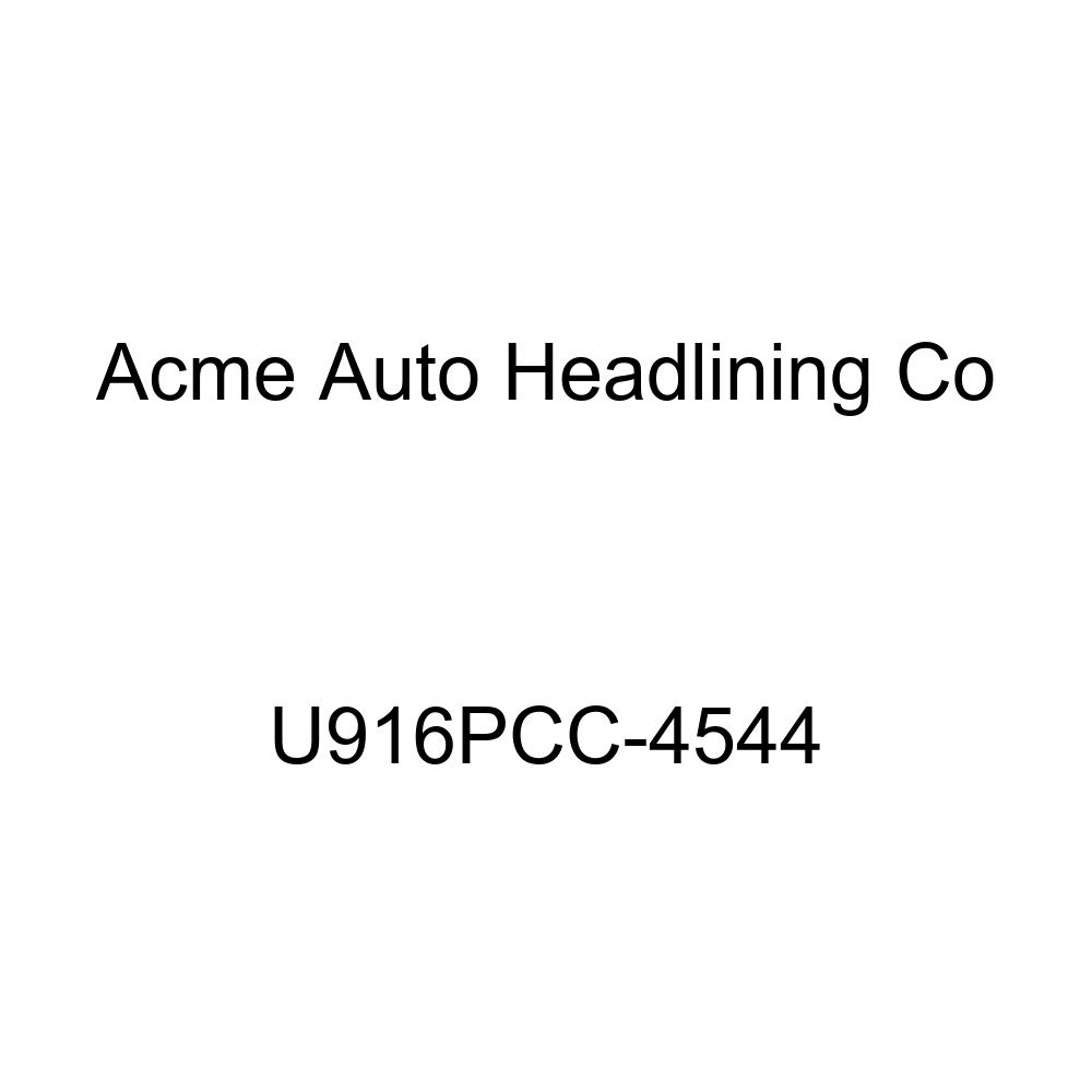 Acme U916PCC-4544 Front and Rear Saddle Vinyl Bench Seat Upholstery