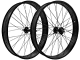 Flying Horse 26' Fat Tire Single/7 Speed Beach Cruiser Wheel Set (Black)