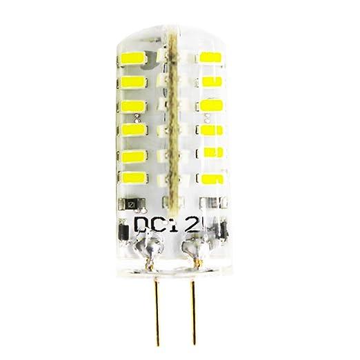 G4 Bombillas LED, 4 W 48 x 3014 SMD sustituir 30 W lámpara halógena similar