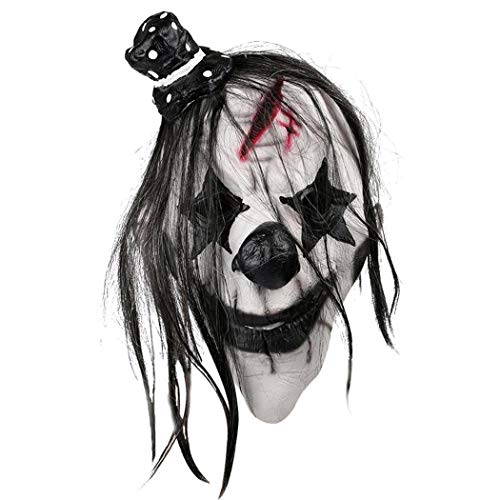 ThinIce Halloween Clown Party Costume Cosplay Face Masks Horrifying Rubber Latex Masquerade -