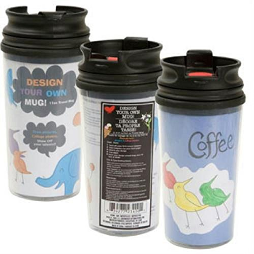 Greenbrier Design Your Own Mug - Travel Mug, 11.5 oz