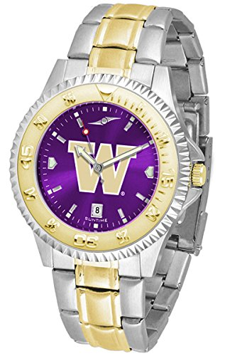 Washington Huskies Competitor Two-Tone AnoChrome Men's Watch