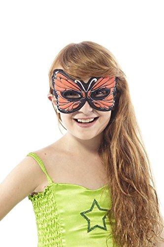 Orange Butterfly Mask (Monarch Butterfly Costume)