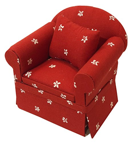 Inusitus Miniature Dollhouse Sofa Arm Chair - Dolls for sale  Delivered anywhere in USA