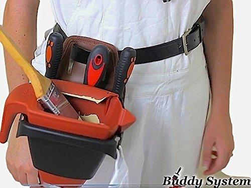 Big Boy Ind 5210 Buddy System Paint Bucket Holder with Dripless Paint Bucket by Big Boy Ind