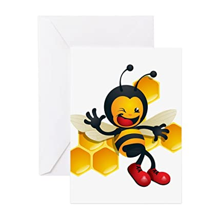 Amazon cafepress bumble bee greeting card note card cafepress bumble bee greeting card note card birthday card blank inside m4hsunfo