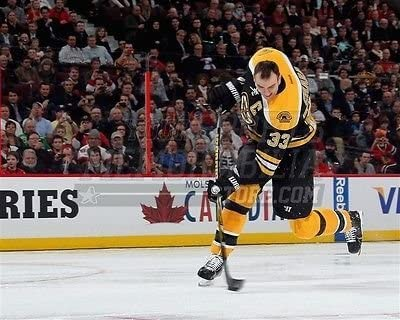 Amazon Com Zdeno Chara Boston Bruins Hardest Slap Shot 108 8 Photo 8x10 11x14 16x20 1931 Size 16x20 Sports Collectibles