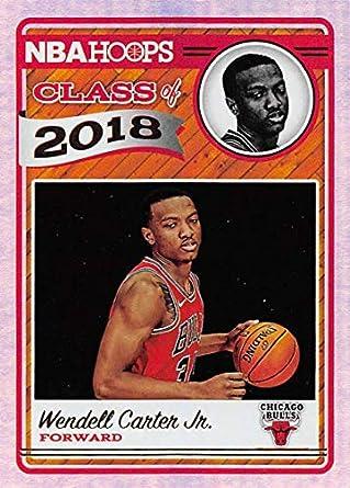 e8fabd5e40c5 Amazon.com  2018-19 NBA Hoops Class of 2018 Holo  7 Wendell Carter ...