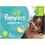 Pampers Baby Dry size 5, 78 ct