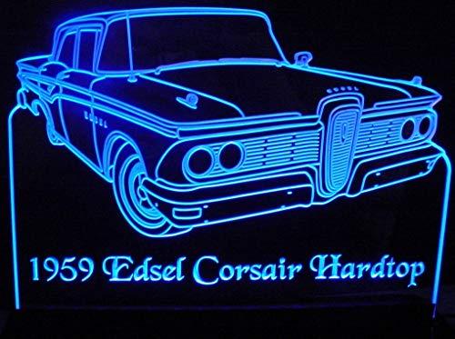 ValleyDesignsND 1959 Edsel Corsair Hardtop Acrylic Lighted Edge Lit 12