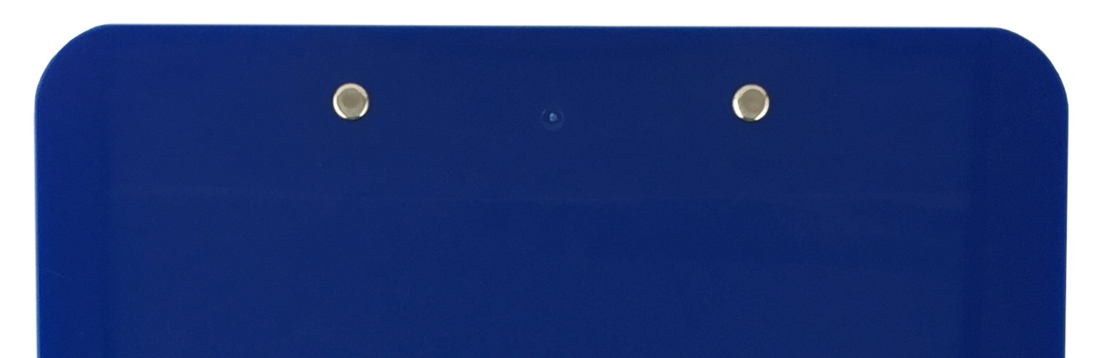 Trade Quest Plastic Clipboard Opaque Color Letter Size Low Profile Clip (Pack of 6) (Dark Blue) by Trade Quest (Image #7)