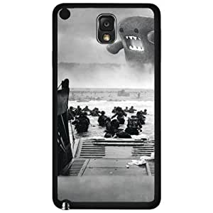 Funny Black and White Domo Attacks the Troops Hard Snap on Phone Case (Note 3 III)