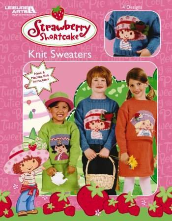 Strawberry Shortcake Knit Sweaters (Leisure Arts 3748)