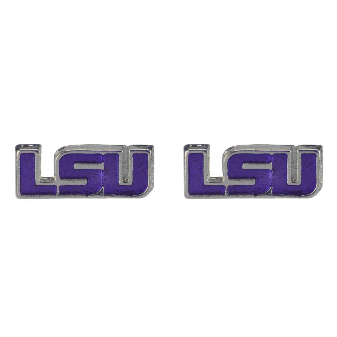 Sandol LSU Tigers Logo Stud Earrings
