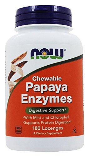 NOW Foods - Papaya Enzymes 180 LOZ