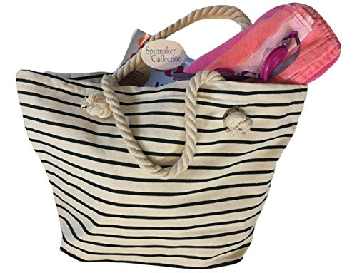 canvas-beach-bag-with-dark-blue-stripes-zipper-top-and-liner-spinnaker-collection