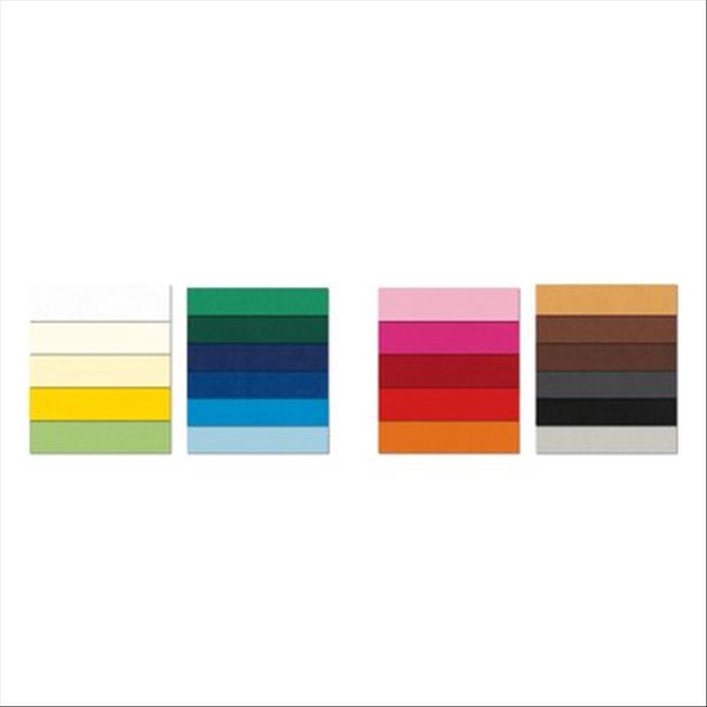 Favini Cartoncino PRISMA 220 50x70 cm - rubino - A333012 (conf.20) Cartoncinicolorati