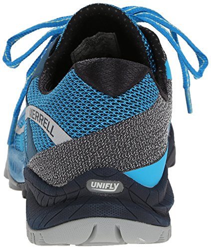 Merrell All Out Charge, Chaussures de Trail Homme Multicolore (Racer Blue/Navy)