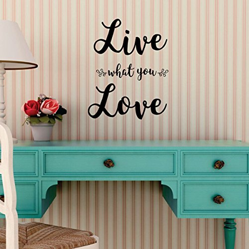 Farmhouse Wall Decor For Bedroom, Living Room or Family Room Decor - Live What You Love (Living Room Gaines Ideas Joanna)