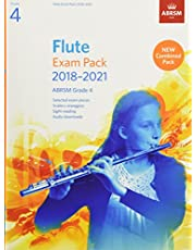 Flute Exam Pack 2018-2021, ABRSM Grade 4: Selected from the 2018-2021 syllabus. Score & Part, Audio Downloads, Scales & Sight-Reading