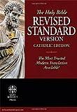 The Holy Bible RSV Catholic Edition - Burgundy